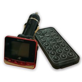 FM transmitter InHouse MKF-T893C, přehrává mp3 soubory do FM rádia