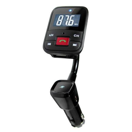 InHouse MKF-BT65 Bluetooth FM Transmitter