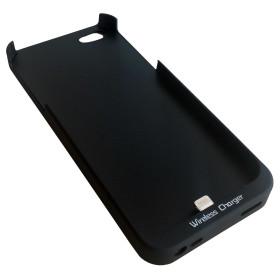 InHouse MKF-WR2 i5 černé pouzdro telefonu s nabíjecí indukční cívkou pro iPhone 5
