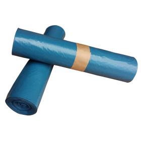 Pytel 80mi,120 litrů Modrý 700x1100 mm, 1 role (15ks)