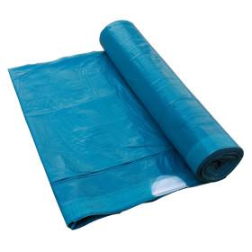 Zatahovací sáček do koše 60 litrů Modrý 500x800 mm, 1 role (10ks)