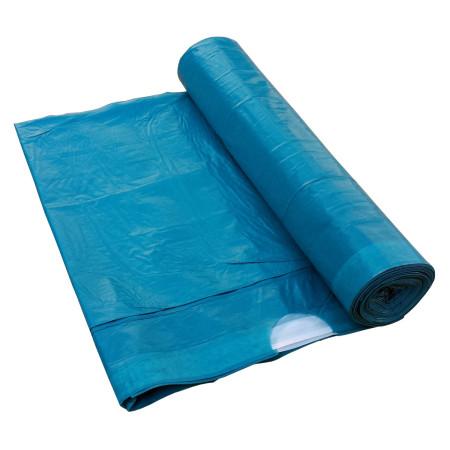 Sáčky do košů, zatahovací 60 litrů Modrý 600x800 mm, 1 role (10ks)