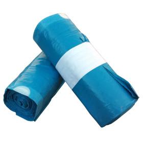 Zatahovací pytel 120 litrů Modrý 700x1000 mm, 1 role (25ks)