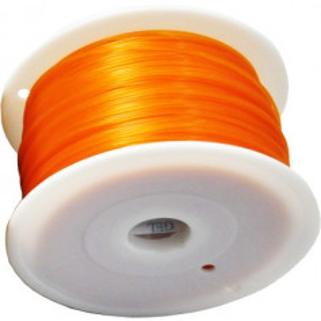 MKF Filament MKF-PLA F3.0 oranžová, Tisková struna PLA 3,0 mm 1 Kg pro 3D tiskárnu