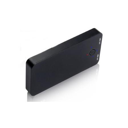 Nabíječka InHouse MKF-Solar 5000  Black s USB výstupem 5V/2A - neoriginální