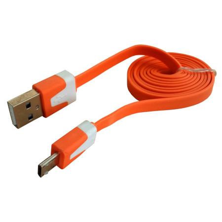 InHouse propojovací kabel MKF-1021 OW s konektorem USB/Micro USB