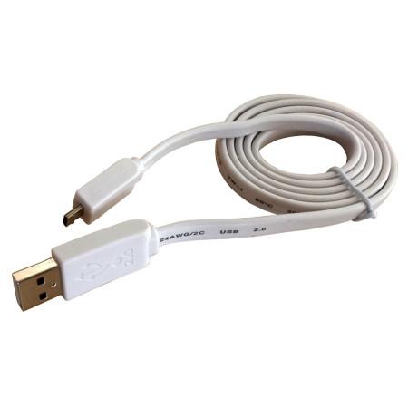 InHouse propojovací kabel MKF-1021 White s konektorem USB/Micro USB