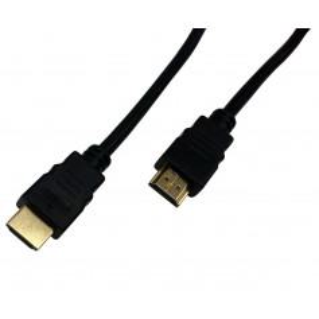 InHouse MKF-HDMI / HDMI 1,8m GOLD kabel HDMI/HDMI černý, V1.4, 3D, 1080p