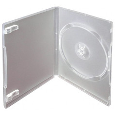 Krabička na 1ks DVD transparent InHouse DVD-1T