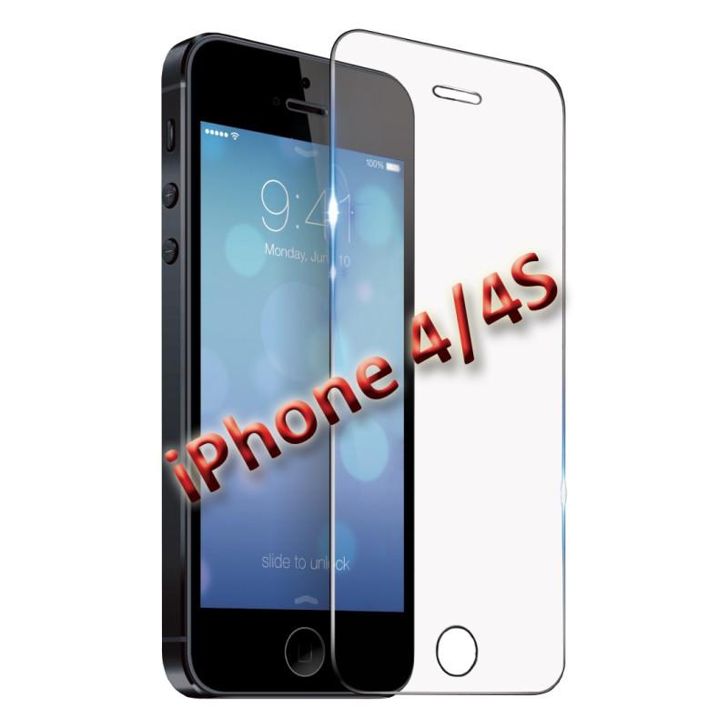 InHouse Tvrzené sklo pro iPhone 4/4S, (ochranné sklo na mobil iPhone 4/4S)