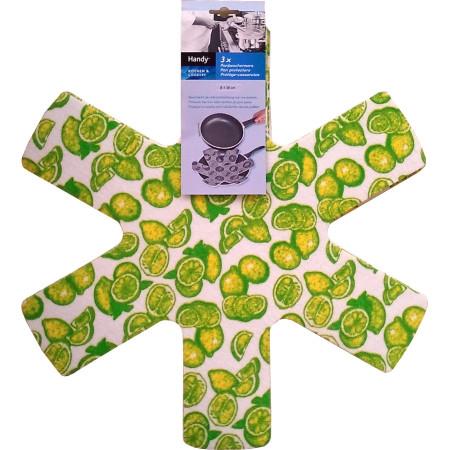 Ochranná podložka pro pánve Pan Protector-Citron