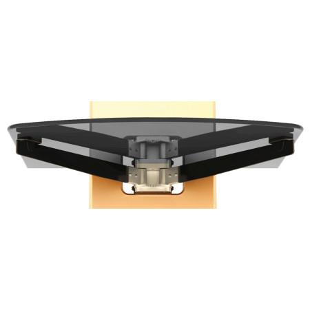 InHouse MKF-Excellent Design White Nástěnný držák pro TV a 2 poličky