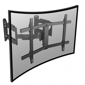 """InHouse MKF-551DPC kloubový držák na TV s úhlopříčkou 37""""- 70"""", s možností uchycení do rohu,Nosnost 45 Kg"""
