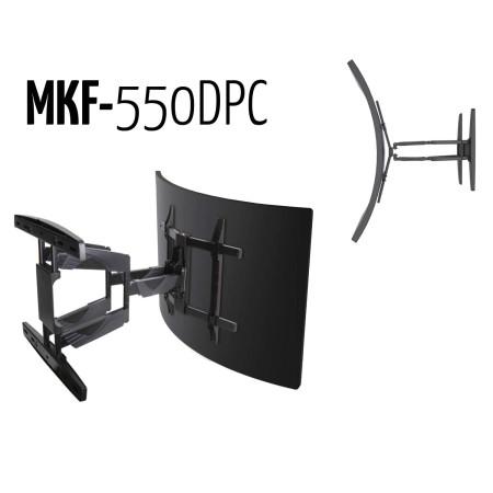 """InHouse MKF-550DPC kloubový držák na TV s úhlopříčkou 32""""- 65"""", Vhodný pro zakřivené TV, Nosnost 45 Kg"""