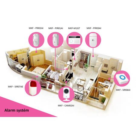 InHouse MKF - SIR06AI Bezdrátová siréna pro vnitřní použití