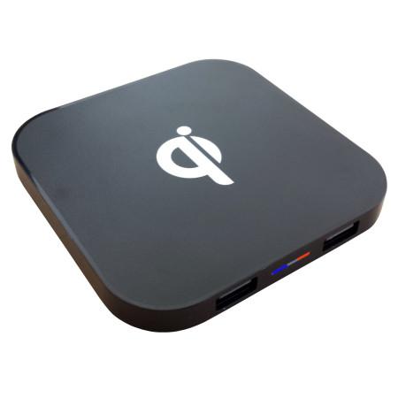 Nabíječka InHouse MKF-WT4N Qi USB Bezdrátová indukční nabíječka s USB výstupem