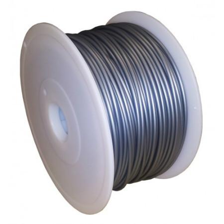 MKF Filament MKF-ABS F1.75 stříbrná, Tisková struna ABS 1,75 mm 1 Kg pro 3D tiskárnu