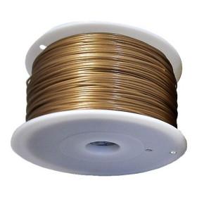 Filament MKF-ABS F1.75 zlatá, Tisková struna ABS 1,75 mm 1Kg pro 3D tiskárnu
