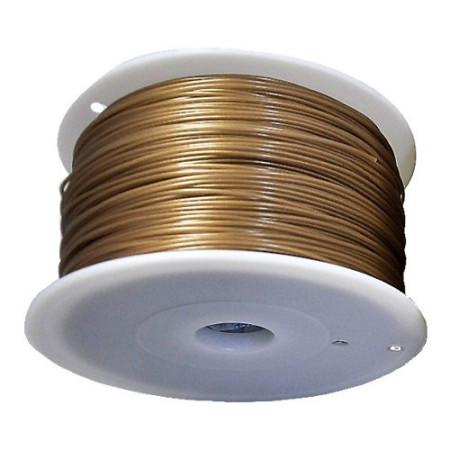 MKF Filament MKF-ABS F1.75 zlatá, Tisková struna ABS 1,75 mm 1 Kg pro 3D tiskárnu