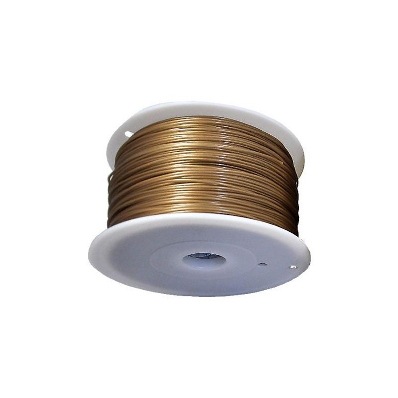 MKF Filament MKF-PLA F1.75 zlatá, Tisková struna PLA 1,75 mm 1Kg pro 3D tiskárnu