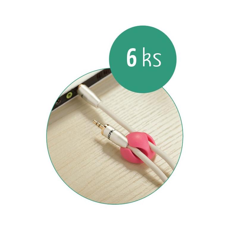 Organizace kabelů MKF-UK02 Double Color Mix