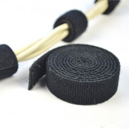 Organizace kabelů MKF-SK21 Black, Suchý zip 1,2m