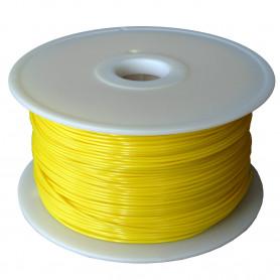 Filament MKF-PETG F1.75 tmavě žlutá, Tisková struna PETG 1,75 mm 1Kg pro 3D tiskárnu