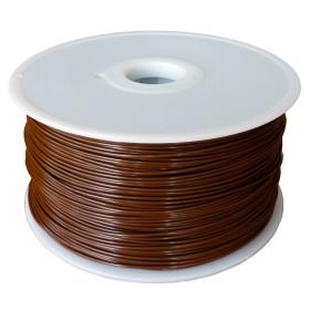 Filament MKF-PLA F1.75 kávová, Tisková struna PLA 1,75 mm 1Kg pro 3D tiskárnu