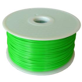 Filament MKF-ABS F1.75 zelená / FLUORESCENČNÍ, Tisková struna ABS 1,75 mm 1Kg pro 3D tiskárnu