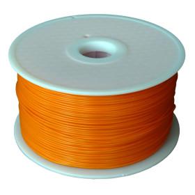 Filament MKF-ABS F1.75 oranžová / FLUORESCENČNÍ, Tisková struna ABS 1,75 mm 1Kg pro 3D tiskárnu
