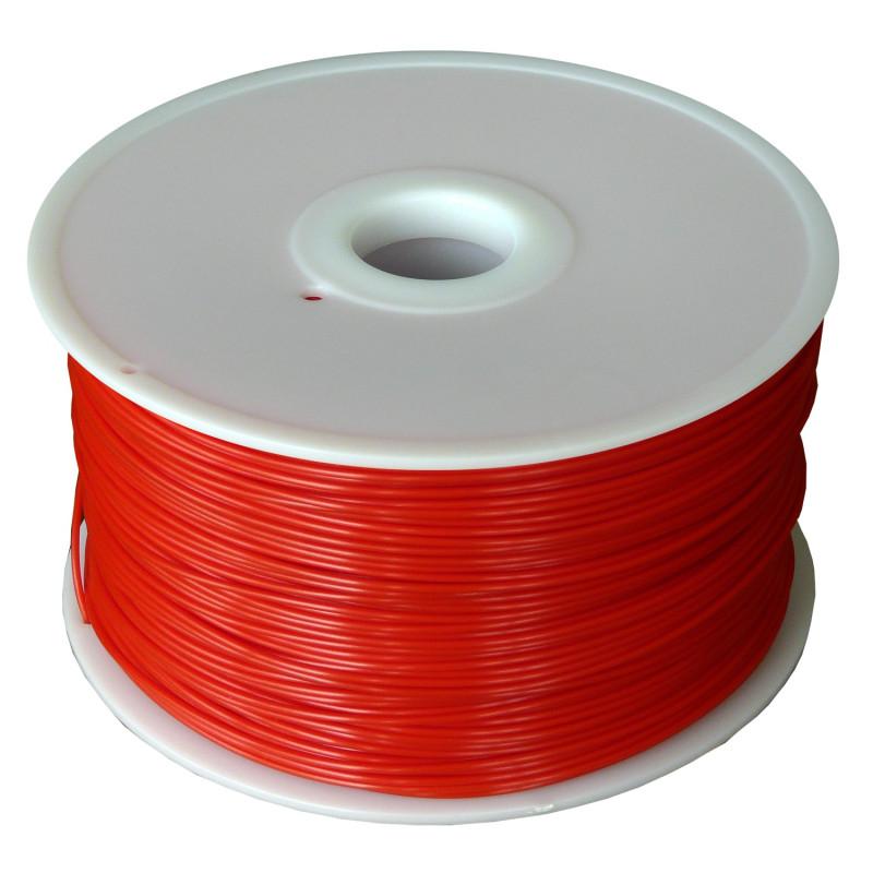 MKF Filament MKF-ABS F1.75 červená - FLUORESCENČNÍ, Tisková struna ABS 1,75 mm 1 Kg pro 3D tiskárnu