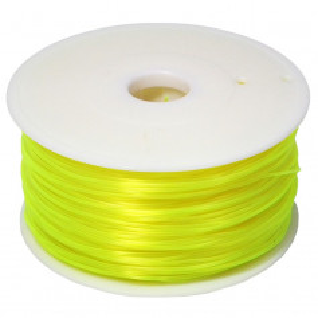 MKF Filament MKF-PLA F1.75 průsvitná žlutá, Tisková struna PLA 1,75 mm 1 Kg pro 3D tiskárnu