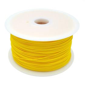 Filament MKF-PLA F1.75 tmavě žlutá, Tisková struna PLA 1,75 mm 1Kg pro 3D tiskárnu