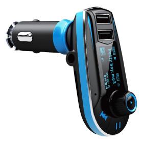 MKF FM Transmitter MKF-FM10 do auta pro poslech mp3 s USB nabíječkou 5V/2,1A