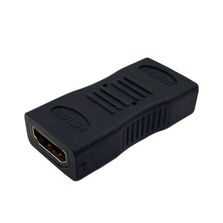 InHouse MKF-1283 HDMI-HDMI, redukce/spojka kabelů HDMI, černá