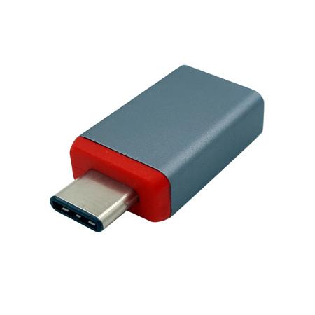 MKF MKF-USB31CMAF redukce USB A / USB C, ALU, stříbrná