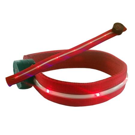InHouse MKF-Flash LED085 červená Svítící pásek