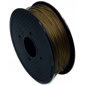 MKF Filament MKF-PLA F1.75 bronz  - s obsahem bronzu , Tisková struna PLA 1,75 mm 1Kg pro 3D tiskárnu