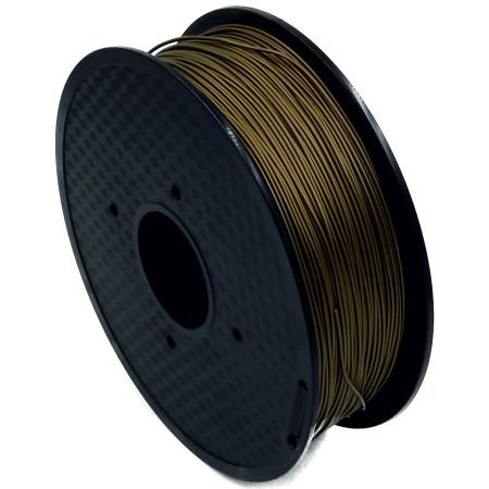 MKF Filament MKF-PLA F1.75 bronzová, Tisková struna PLA 1,75 mm 1Kg pro 3D tiskárnu
