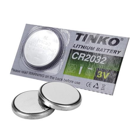 Baterie TINKO CR2032, lithiová baterie 3V