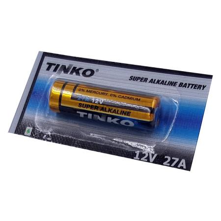 Baterie TINKO A27 (LR27A), alkalická baterie 12V