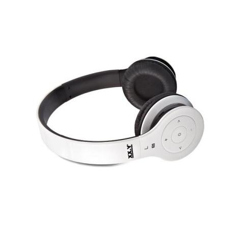 Stereo sluchátka XX.Y BlueWave 20 bílé s Bluetooth a podporou NFC