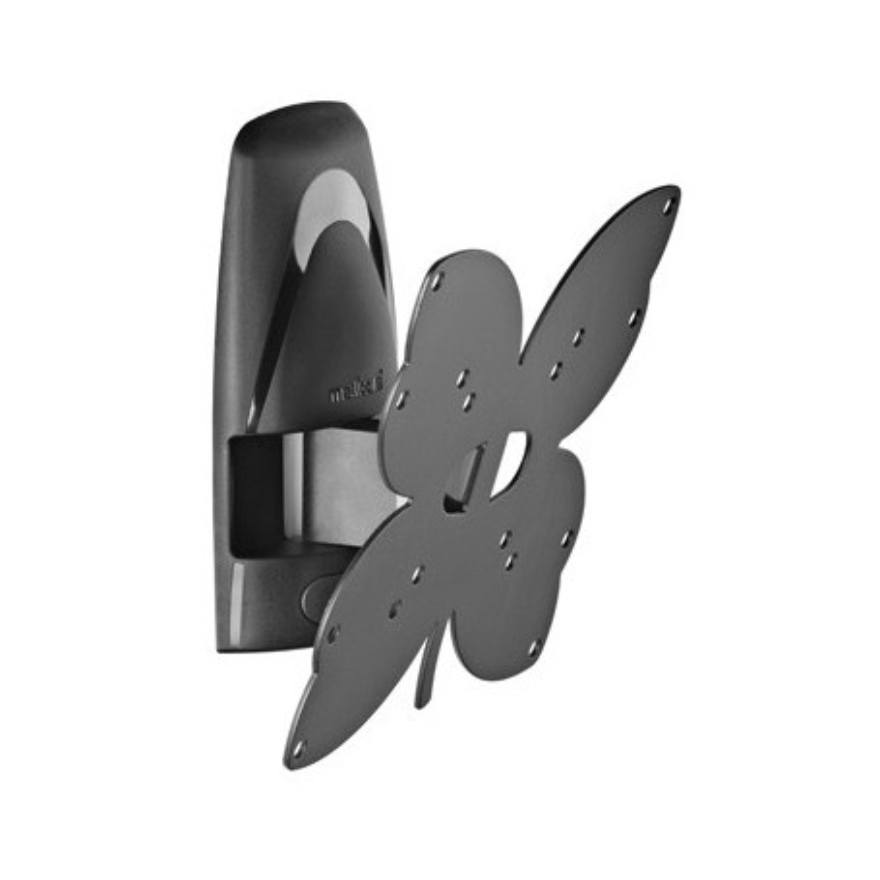 Meliconi Stile T200 Black Polohovací držák pro plazmové a LCD TV - otočný a naklápěcí