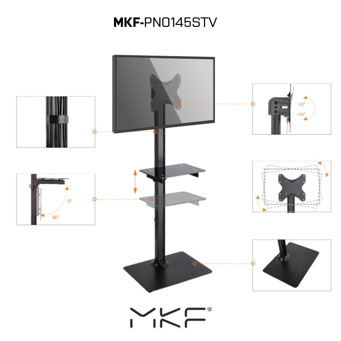 MKF-PNO145STV, stojan pro TV s držákem