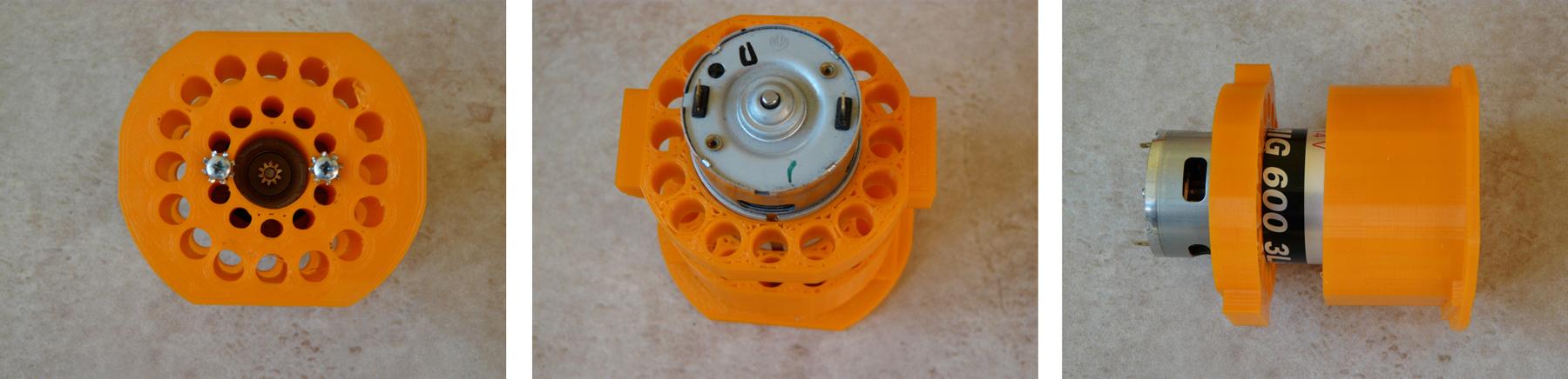 příruba motoru z 3D tiskárny