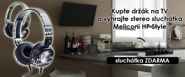 Sluchátka HP Style Meliconi