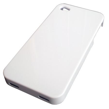 InHouse MKF-WR2 i4/i4S bílý kryt telefonu s nabíjecí indukční cívkou pro iPhone 4/4S