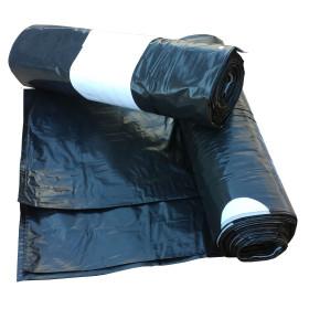 Sáčky do košů, zatahovací 60 litrů Černý 500x800 mm, 1 role (10ks)