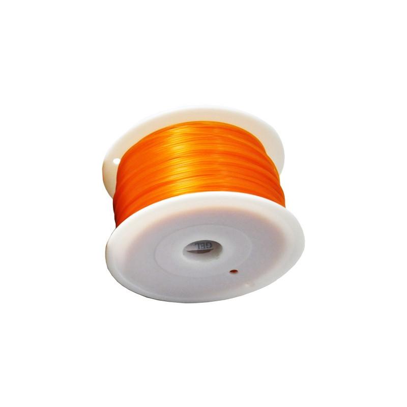 MKF Filament MKF-ABS F3.0 oranžová, Tisková struna ABS 3,0 mm 1 Kg pro 3D tiskárnu