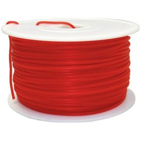 Fillamentum MKF-ABS F3.0 červená, Tisková struna ABS 3,0 mm 1Kg